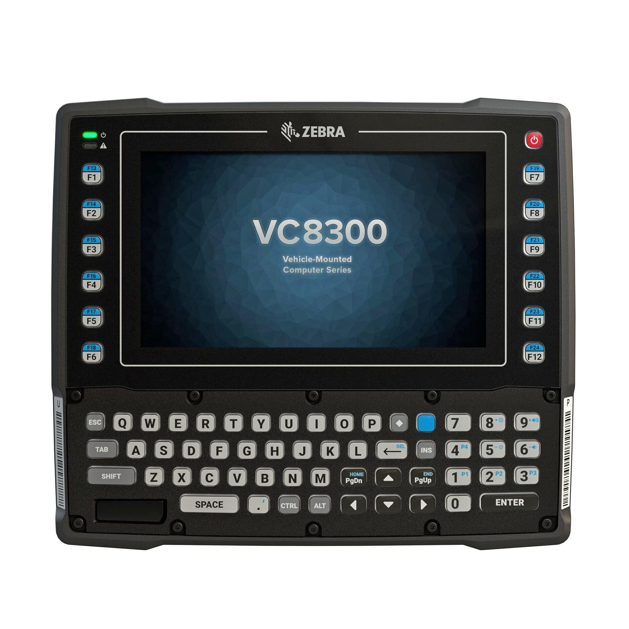 "Zebra VC8300 handheld mobile computer 20.3 cm (8"") 1280 x 720 pixels Touchscreen 3.7 kg Black"