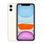 "Apple iPhone 11 15.5 cm (6.1"") 128 GB Dual SIM 4G White iOS 13"