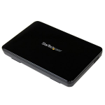 StarTech.com 2.5in USB 3.0 External SATA III SSD Hard Drive Enclosure with UASP – Portable External HDD S2510BPU33