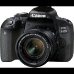 Canon EOS 800D + EF-S 18-55mm 4.0-5.6 IS STM SLR Camera Kit 24.2 MP CMOS 6000 x 4000 pixels Black