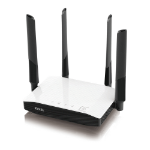 Zyxel NBG6604 wireless router Dual-band (2.4 GHz / 5 GHz) Fast Ethernet Black,White