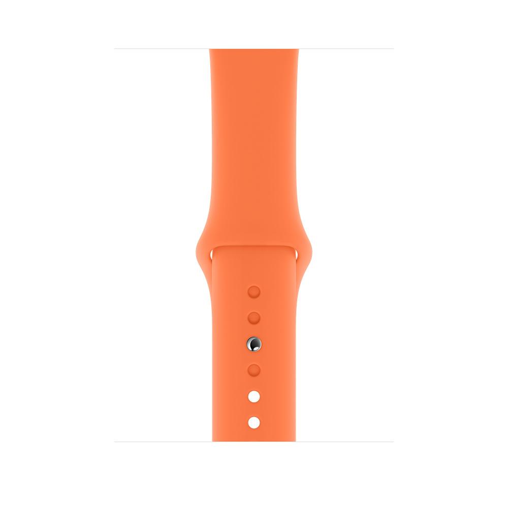 Apple MXP72ZM/A smartwatch accessory Band Orange Fluoroelastomer