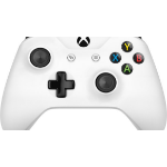 Microsoft Xbox Wireless Controller Gamepad PC, Xbox One S White