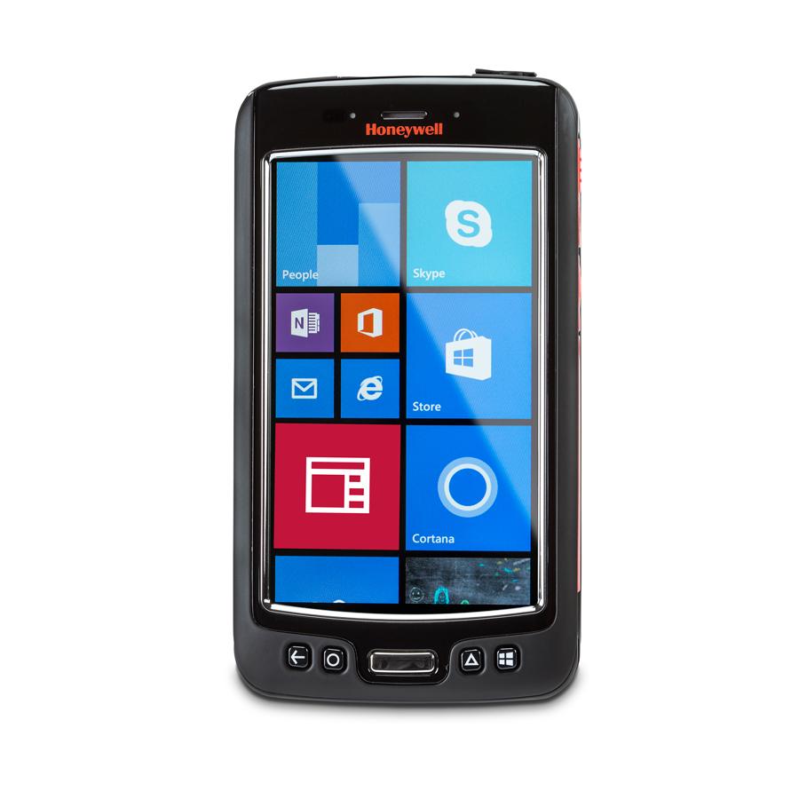 "Honeywell Dolphin 75e handheld mobile computer 10.9 cm (4.3"") 480 x 800 pixels Touchscreen 244 g Black,Orange,Silver"