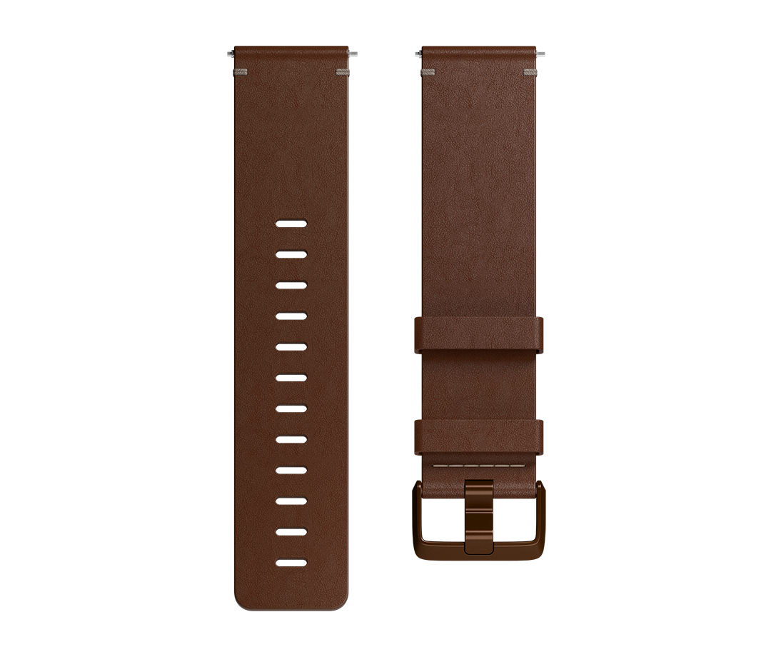 Fitbit Versa Horween L Band Brown Leather