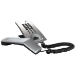 AGFEO T 11 Analog telephone Silver