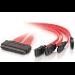 C2G 0.5m SAS/SATA Cable