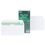 Basildon Envelopes Recycled Wallet Peel and Seal 120gsm DL White Ref F80275 [Pack 100]