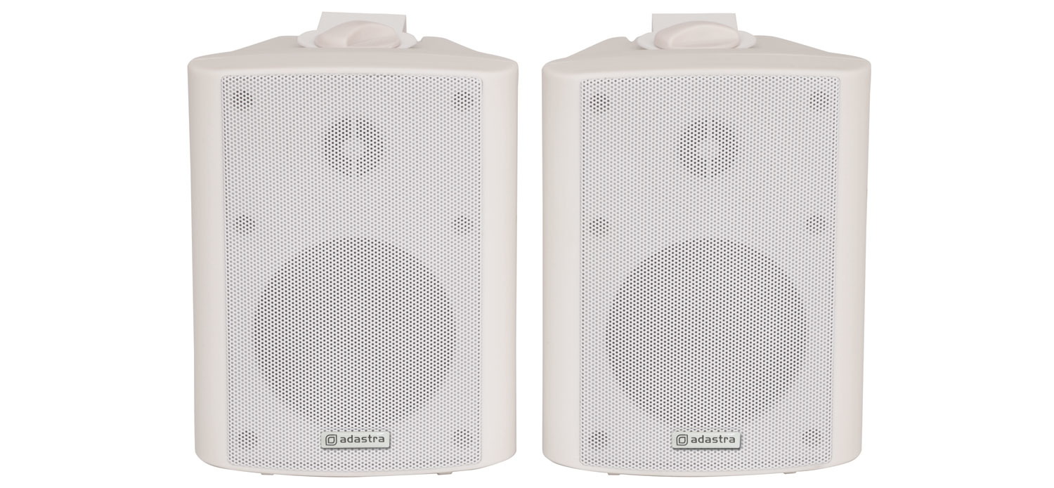 Adastra 100.901UK loudspeaker 2-way 70 W White Wired