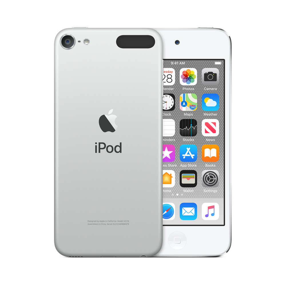 Apple iPod touch - 7th generation - digital player - Apple iOS 12 - 32 GB - silver