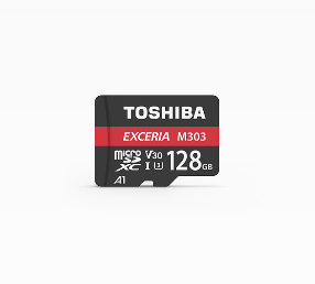 Toshiba Exceria M303 128GB memory card MicroSDXC UHS-I