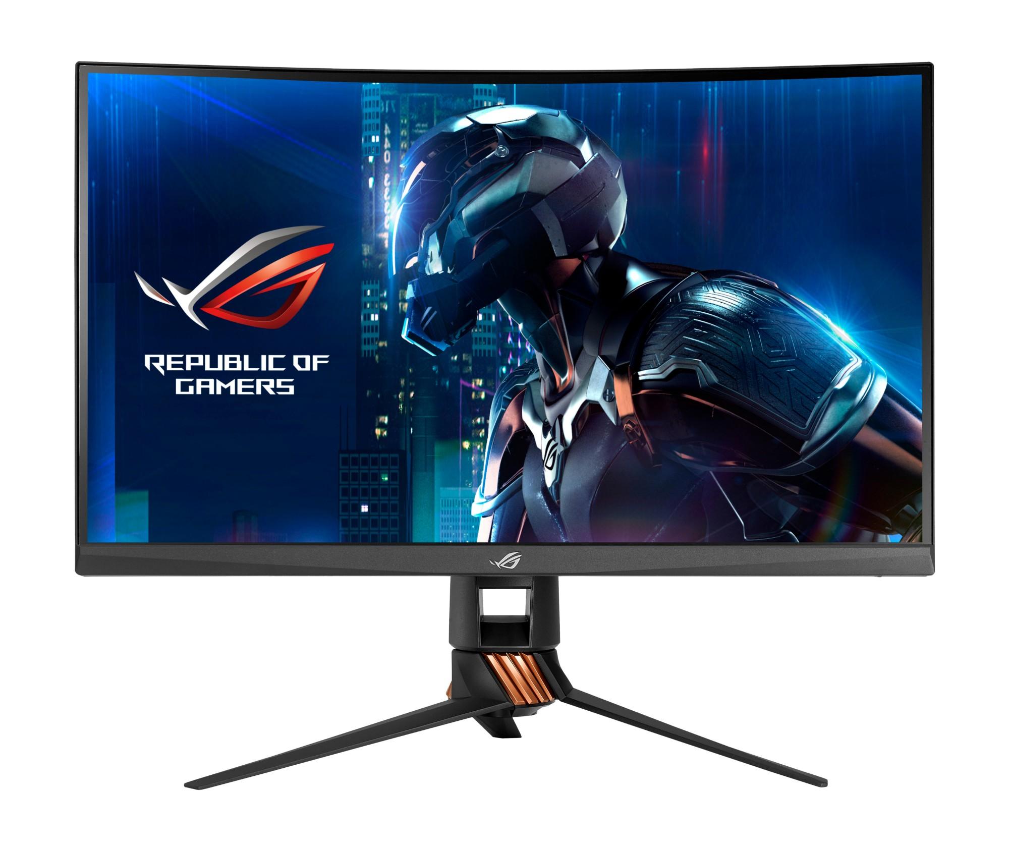 """ASUS PG27VQ computer monitor 68,6 cm (27"""") 2560 x 1440 Pixels Wide Quad HD LED Gebogen Zwart"""