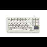 CHERRY TouchBoard G80-1190 keyboard USB QWERTZ German Grey G80-11900LUMDE-0
