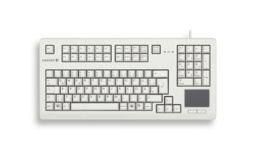 CHERRY TouchBoard G80-1190 keyboard USB QWERTZ German Grey