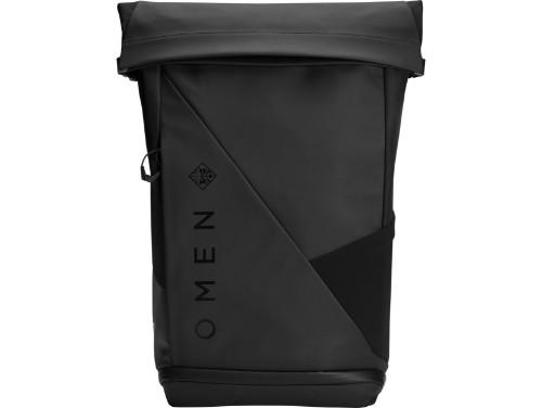 """HP OMEN Transceptor 15 Rolltop notebook case 39.6 cm (15.6"""") Backpack Black"""