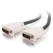 C2G 81201 cable DVI 3 m DVI-I Negro, Blanco