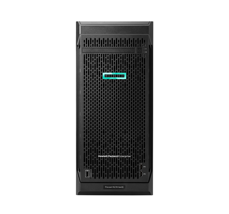 Hewlett Packard Enterprise ProLiant ML110 Gen10 server Intel Xeon Silver 2.1 GHz 16 GB DDR4-SDRAM 32 TB Tower (4.5U) 800 W