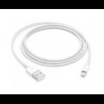 Apple MQUE2ZM/A?ES cable de conector Lightning 1 m Blanco