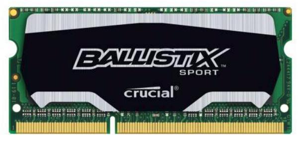 Crucial 4GB Ballistix Sport DDR3-1600 4GB DDR3 1600MHz memory module