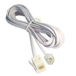 Cables Direct 88BT-210 telephone cable 10 m White