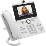 Cisco IP Phone 8865 IP telefoon Wit Wi-Fi