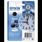 Epson Alarm clock Singlepack Black 27XL DURABrite Ultra Ink