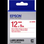 Epson C53S654011 Rood op wit labelprinter-tape