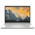 "HP Chromebook Pro c640 Aluminium, Silver 35.6 cm (14"") 1920 x 1080 pixels 10th gen Intel® Core™ i5 8 GB DDR4-SDRAM 64 GB eMMC Wi-Fi 6 (802.11ax) Chrome OS"
