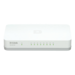 D-Link GO-SW-8G Managed L2 Gigabit Ethernet (10/100/1000) White