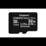 Kingston Technology Canvas Select Plus Flash Speicher 32 GB MicroSDHC UHS-I Klasse 10