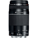 Canon EF 75-300mm f/4.0-5.6 III USM Black