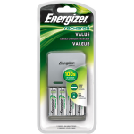 Energizer NiMH Charger + 4 AA NiMH