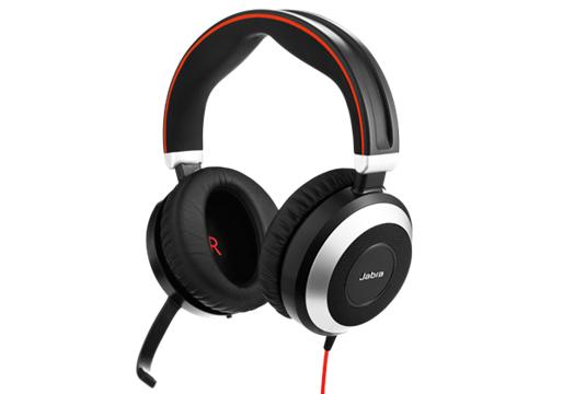 Jabra Evolve 80 UC Stereo hoofdtelefoon Hoofdband Stereofonisch Beige