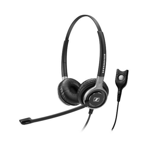 Sennheiser SC 660 Binaural Head-band Black,Silver
