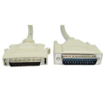 Cables Direct 1m, DB25 M/HP DB50 M, SCSI-2 SCSI cable Grey External DB50/HPM