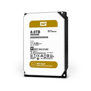 Western Digital Gold 8000GB Serial ATA