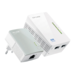 TP-LINK TL-WPA4220 KIT PowerLine-netwerkadapter 300 Mbit/s Ethernet LAN Wi-Fi Wit 1 stuk(s)