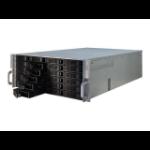 TGC Rack Mountable Server Chassis 4U 650mm Depth, 24x Ext 3.5' Bays, 2x Int 2.5' Bays, 7x Full Height PC