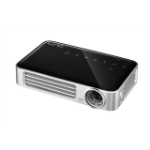 Vivitek Qumi Q6 data projector 800 ANSI lumens DLP WXGA (1280x800) 3D Portable projector Black, Charcoal, Gray, Silver