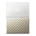 Western Digital My Passport Ultra external hard drive 1000 GB Gold,White
