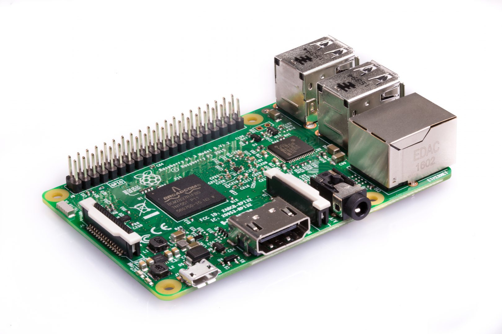 Raspberry Pi Pi 3 Model B development board 1200 MHz BCM2837