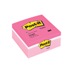 Post-It CUBE 76X76 ASSORTED PINK