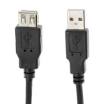 VCOM CU202-B-3.0 USB cable 3 m USB A Black