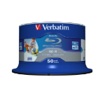 Verbatim 43812 blank Blu-Ray disc BD-R 25 GB 50 pc(s)