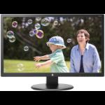 "HP 24uh 24"" Full HD TN Matt Black computer monitor"