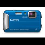 """Panasonic Lumix DMC-FT30 1/2.33"""" Compact camera 16.1 MP CCD 4608 x 3456 pixels Blue"""
