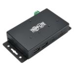 Tripp Lite U460-2A2C-IND interface hub USB 3.1 (3.1 Gen 2) Type-C 10000 Mbit/s Black