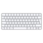 Apple Magic keyboard USB + Bluetooth Italian Aluminium, White