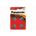 Panasonic Lithium Pack of 4 Coin Cell CR2025 Batteries