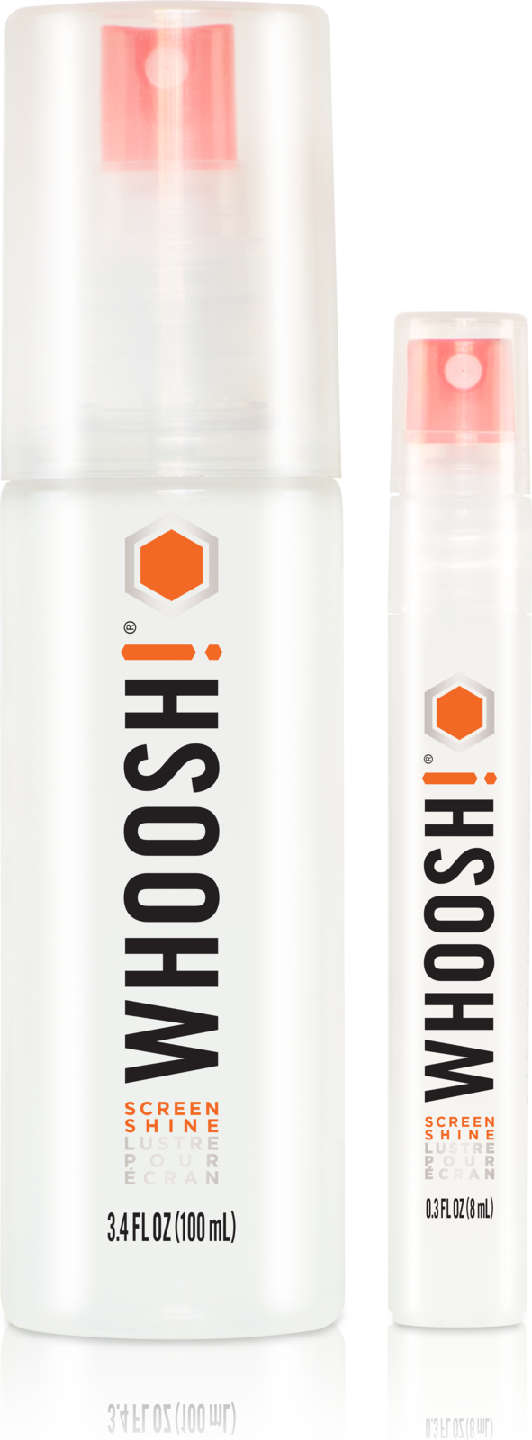 Whoosh! DUO 2-Pack 100+8ml w. 2 cloths